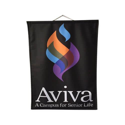 Avivia Banner | Products | Podium Banners | Giant Printing
