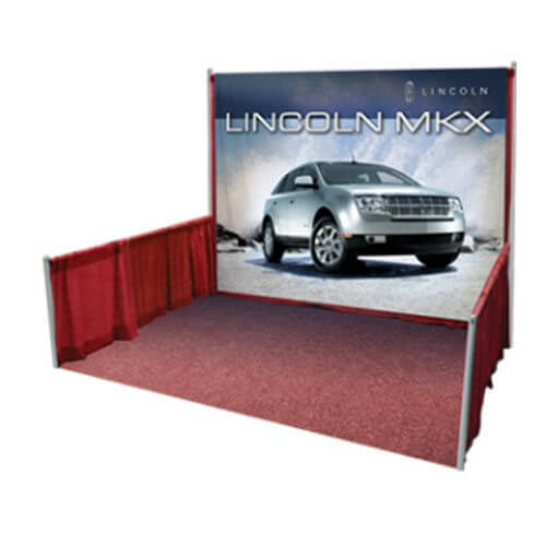 Backdrop Displays | Custom Printed Fabrics | Trade Show Displays & Promotional Products | Austin, Texas Printing | Giant Printing