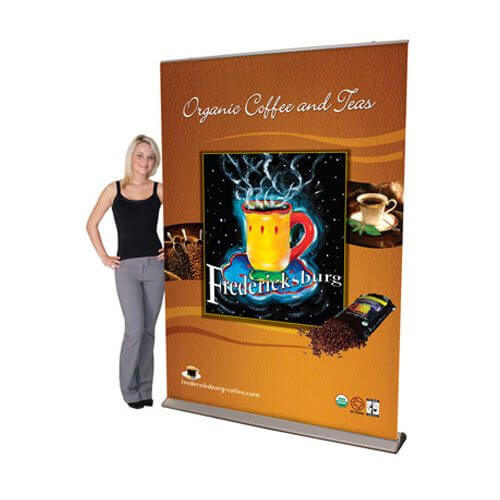 Pull-Up Banner Displays | Custom Printed Fabrics | Trade Show Displays & Promotional Products | Austin, Texas Printing | Giant Printing