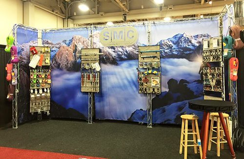 SMC Gear Fabric Backdrop | Truss Display Systems | Giant Printing Austin, TX