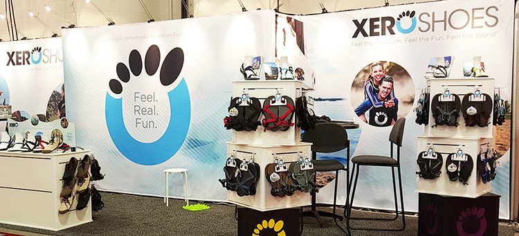 XeroShoes | Trade Show Booth Design | Blog | Giant Printing